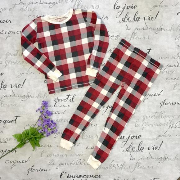 Burt s Bees Baby Other - Burt s Bees Plaid Organic Cotton Pajama Set 8020d1ab7